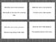 Verb Task Cards