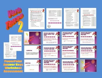 Verb Tense 2 - Verb Tenses Worksheet