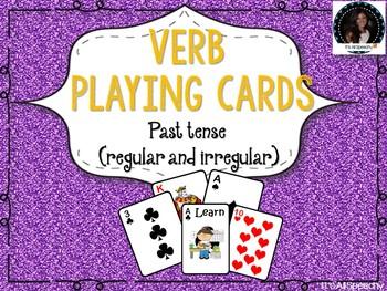 Verb Tense Card Game