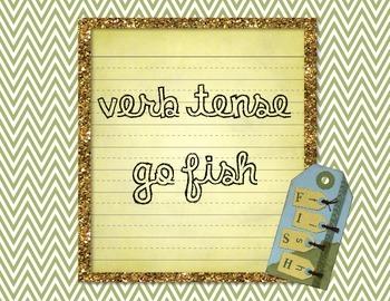 Verb Tense Go Fish