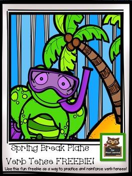 Verb Tense Practice with a Spring Break Theme! *FREEBIE*