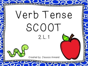 Verb Tense (past, present, future) Task Cards / SCOOT