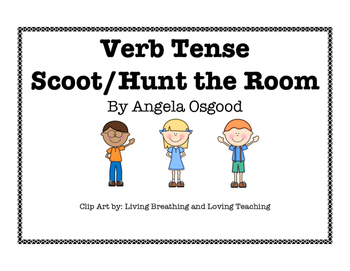 Verb Tense Scoot/Hunt the Room