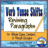 Verb Tense Shifts Paragraph Revising Worksheets