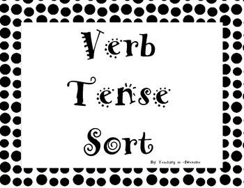 Verb Tense Sort