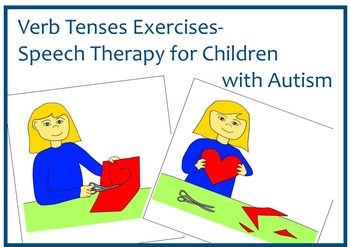 Speech Therapy for Children with Autism- Visual Support.