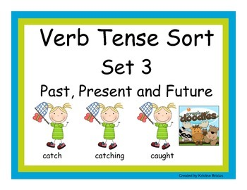 Verb Tenses Set Three: Past, Present and Future