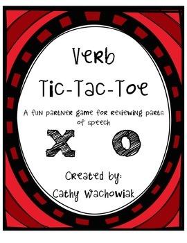 Verb Tic Tac Toe