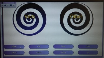 Verb Vortex Game