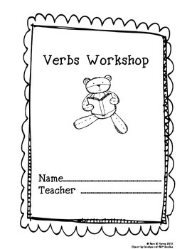 Verbs Workshop Workbook for ESL / ESOL and Young Learners