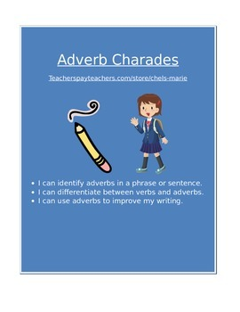 Verb and Adverb Acting Game