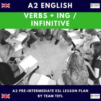 Verb +ing A2 Pre-Intermediate Lesson Plan For ESL