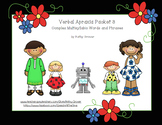 Verbal Apraxia Packet 3 for Complex Multisyllabic Words an