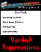 Verbal Expressions - Translating Verbal Expressions Bundle