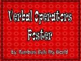 Verbal Operators Poster