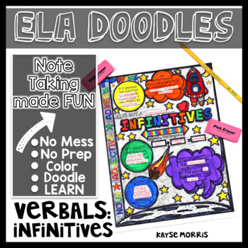 Doodles - Verbals - Infinitives ELA