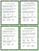 VERBALS:  Task cards for Middle School {Participles, Gerun