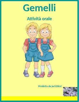 Verbi riflessivi (Italian Reflexive verbs) Gemelli Twins S