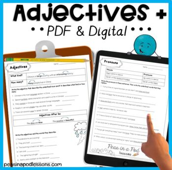 Adjectives and Pronouns