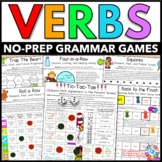 Verbs Games (Irregular Verbs, Past Tense Verbs, Future Ten