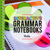Verbs Interactive Notebook, Verb Tenses