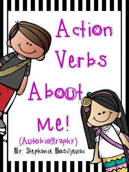 Verbs About Me (Autobiography using verbs!)