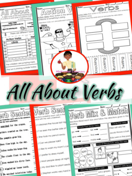 Verbs Mini-Lesson & Foldable