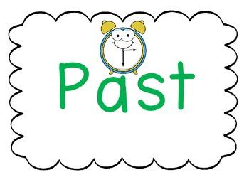 Verbs Past, Present, Future 3 corners