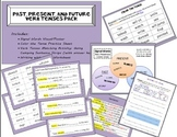 Verbs: Past, Present, and Future Tenses Pack