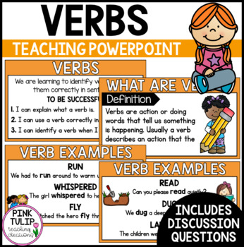 Verbs PowerPoint - Interactive, full lesson