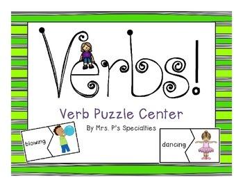 Verbs Puzzle Center