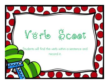 Verbs in a Sentence