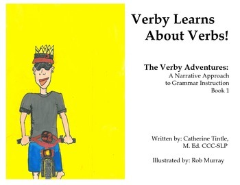 Verby Learns About Verbs: A Narrative Approach to Grammar
