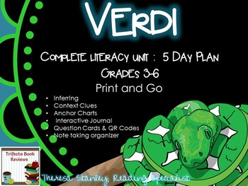 Novel Study: Verdi by Janelle Cannon
