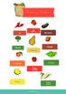 Verduras y frutas - Vocabulario