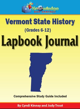 Vermont State History Lapbook Journal