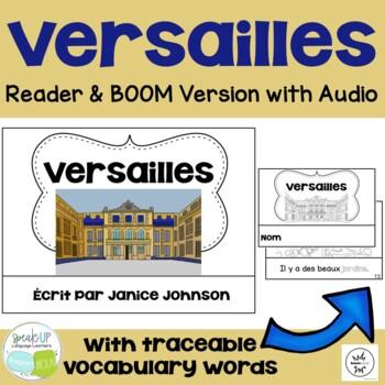 Versailles, France Reader & Vocab work ~ Simplified for La