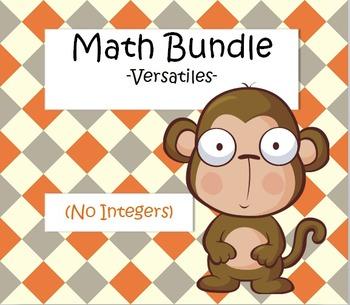 Math Bundle - Versatiles