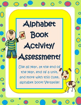 Versatile Student Alphabet / vocabulary Book for any topic