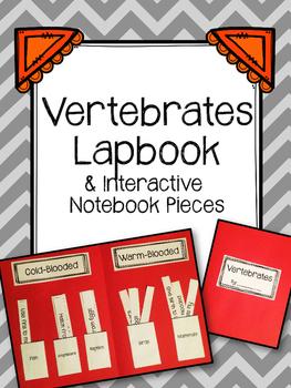 Vertebrates Lapbook. Fish. Reptiles. Amphibians. Birds. Mammals
