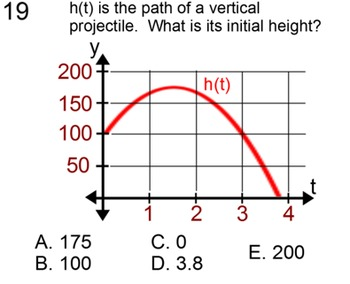 Vertical Projectiles for 9th and 10th Grade, Study Guide +