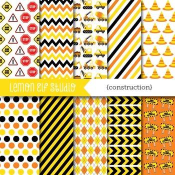 Construction-Digital Paper (LES.DP25A)