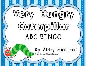 Very Hungry Caterpillar BINGO