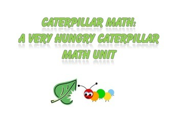Very Hungry Caterpillar Math