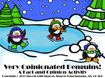 Very Opinionated Penguins! A Fact and Opinion Activity {FREEBIE}