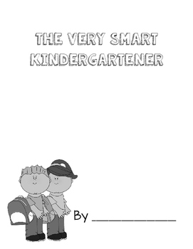 Very Smart Kindergartener Book
