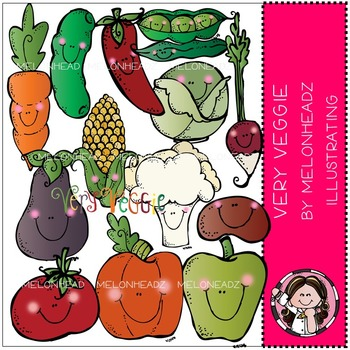 Very Veggie by Melonheadz COMBO PACK