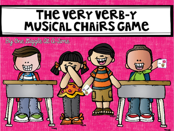 Very Verb-y Musical Chairs Game