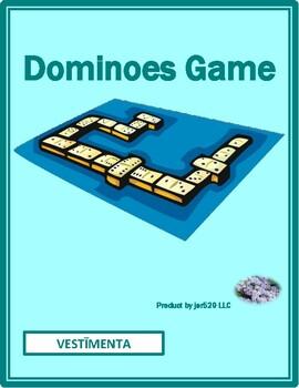 Vestīmenta (Clothing in Latin) Dominoes