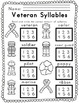 Veteran / Remembrance Day Literacy and Math Activity Bundl